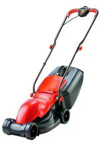 Flymo Easimo Electric Wheeled Rotary Lawnmower, 900 W - Orange/Black £39.99 @ Amazon