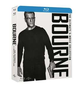 Bourne: The Ultimate 5-movie Collection [Blu Ray] + Digital copy £15 delivered @ Zoom