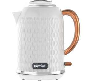 Breville White and Rose Electric Kettle £44.99 (was £79.99) Free P&P @ Currys