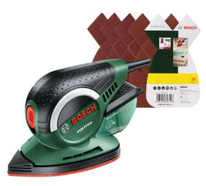 Bosch PSM Primo Multi Sander with 25 Sanding Sheets £33.99 @ Robert Dyas - With code (Ends Tonight)