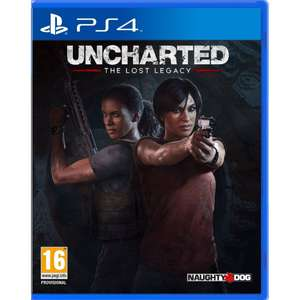 Uncharted: The Lost Legacy PS4 Pre-order £22.85 (+ FREE Jak and Daxter: The Precursor Legacy) @ ShopTo