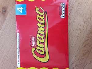 Caramac 4 pack only £1 @ Home bargains