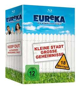 A Town Called Eureka  - The Complete Collection  Blu Ray @ Amazon Germany - £31.84