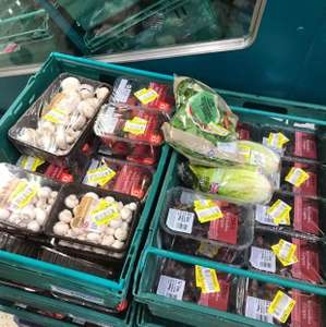 fruits grapes/strawberries reduced £1.10 @ Tesco Hodge Hill