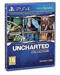 Uncharted the Nathan Drake Collection (PS4) like new £11.48 @ boomerang rentals