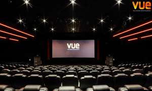 3 Vue cinema tickets from £12.96 @ Groupon (Works out at £4.32 per ticket)