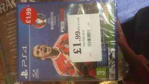 PES 2016 for PS4/XB1 only £1.99 in Home Bargains!!
