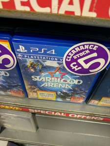 Starblood Arena PS4 VR game ONLY £5 @ Smyths instore Newry, Northern Ireland