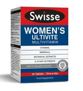 Swisse Women's premium multivitamins £1.99 @ Home Bargains