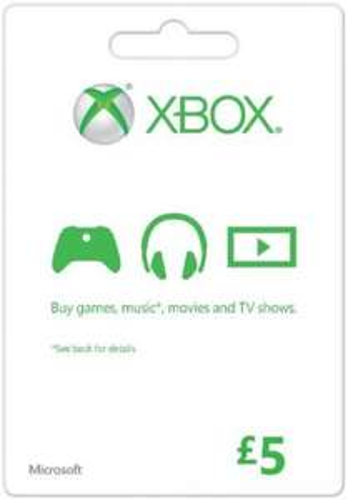 Xbox Live £5 prepaid card @ SCDkey - £3.84