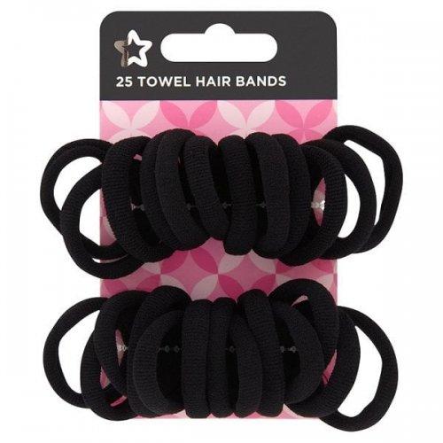 25 Towel Hair Bands for £2 @ superdrug