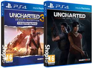 Uncharted: The Lost Legacy + Uncharted 3: Drakes Deception Remastered + Jak and Daxter: The Precursor Legacy £27.85 @ Shopto.net