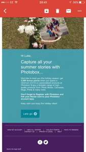 2500 nectar points with £10 spend at photo box (plus p&p)