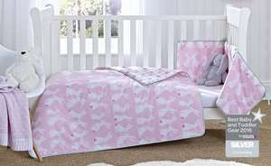 30% off Clair de Lune Rabbits Cot Bedding Set - £32.89
