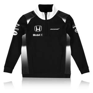 McLaren Honda Childrens Kids Official 2016 Team 1/4 Zip Sweatshirt Top £5 Delivered Ebay McLaren Store