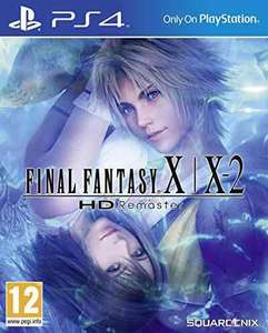 Final Fantasy X/X-2 Hd remaster PS4 - £15.23 / £17.22 non-Prime Sold by Game's Direct and Fulfilled by Amazon.