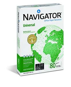 NAVIGATOR UNIVERSAL, 80 g/qm, DIN A4 Copier Paper. £3.59 @ Amazon (add-on)