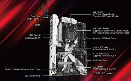 ASRock X370 Killer SLI AMD X370 - £140.75 at Amazon