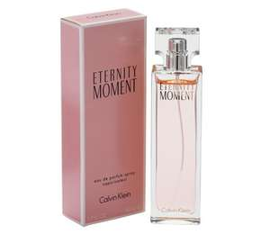 Calvin Klein Eternity Moment for Women - 30ml Eau de Parfum £13.99 @ Argos