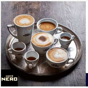 Tuesday treat. Enjoy a free hot drink at Caffѐ Nero - O2 Priority