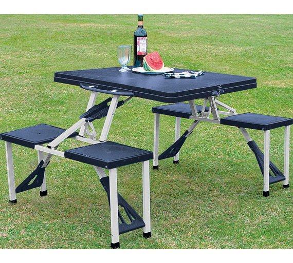Folding Picnic Table and Stools £19.99 - Argos