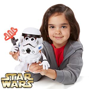 Star Wars Mr Potato Head - Stormtrooper & Luke Skywalker £4.99 instore / online @ Homebargains (home del £3.49)