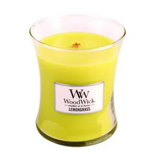 WoodWick Lemongrass Medium Candle £5 @ Boots, Reduced from £17.99