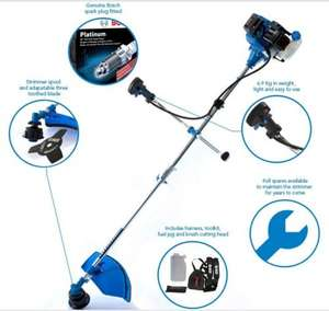 Petrol Grass Strimmer / Brush Cutter 52cc  (Bosch Spark Plug) £69.98 at SGS Engineering