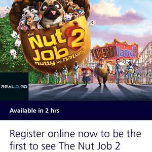 Nut Job 2 Preview Tickets From O2 Priority