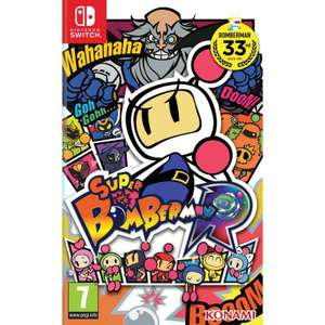 Super Bomberman R Cartridge for Nintendo Switch - £29.95 @ TGC