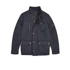 Joules Stafford Quilted Jacket (Navy) - Joules - S, M Only - £59.95 (free standard delivery)