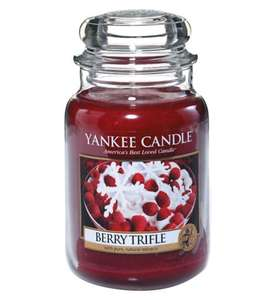 Yankee Candle Large Jar £10 @ Boots Free C&C