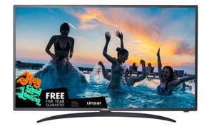 "Linsar 55"" 55UHD110 UHD 4K Smart TV with 5 Year Warranty £379.98 - Ebuyer"