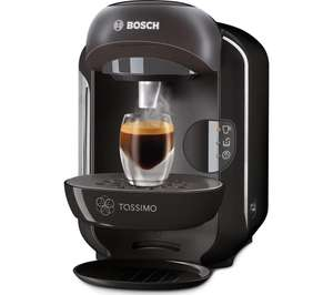 TASSIMO by Bosch Vivy TAS1252GB Hot Drinks Machine - Black £39.97 - Currys