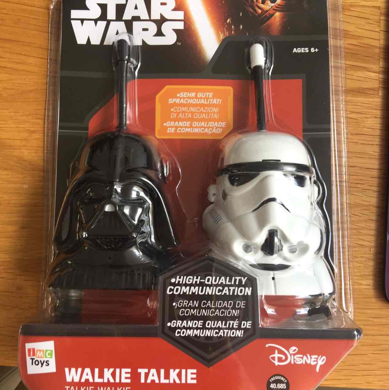 Star War walkie talkie - 10p instore @ B&M Wantage