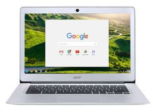 "Refurbished Acer Chromebook 14 (CB3-431-C9WH) 2GB RAM 16GB eMMC 14"" Laptop in Silver.  £122.94 delivered from Littlewoods on Ebay."