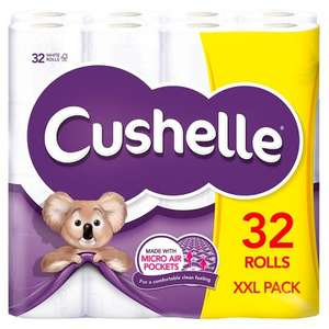 Cushelle XXL White Toilet Roll (32) £10.99 @ Poundstretcher Anniesland