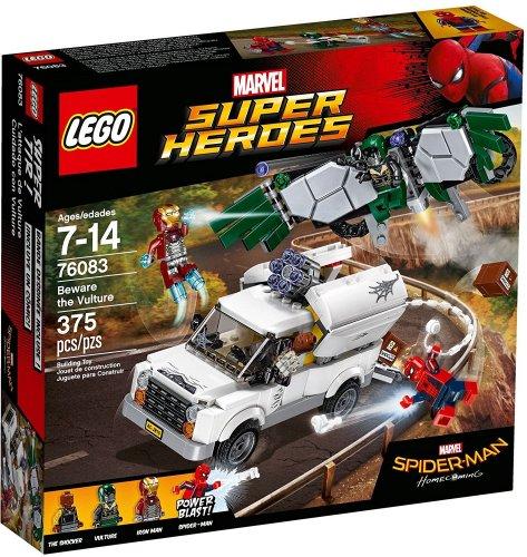 LEGO UK 76083 Marvel Superheroes Spider-Man Beware the Vulture - £32.84 at Amazon