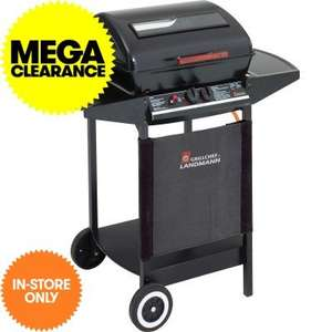 Landmann Grill Chef 2 burner gas barbecue £53.99 in store @ JTF branches