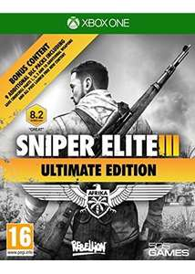 Sniper Elite 3 Ultimate Edition XBox One £13.99 at Base.com