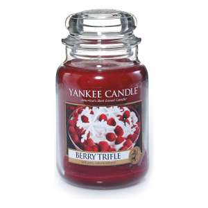 Yankee Candle Large Jar Candle, Berry Trifle £10 (Prime), £13.95 (Non-Prime) @ Amazon