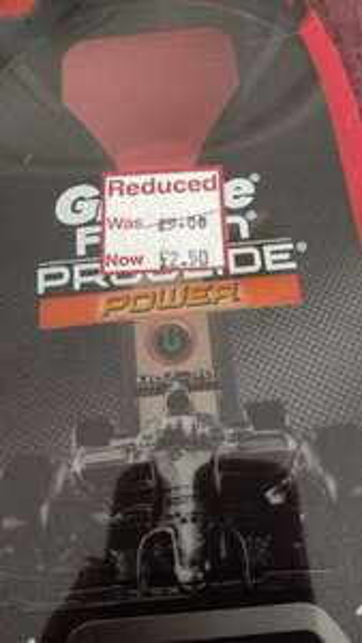 Gillette Fusion proglide power razor. £2.50 wilko