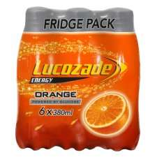Lucozade Energy 6x380ml Flavours Below - £2 [Tesco Groceries] From 2nd August