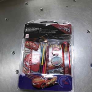 Cars Bumper stationery set @ Tesco Was £10 now only £5