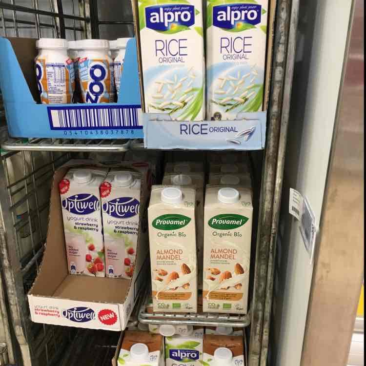 1ltr Alpro Rice / Soya / Provamel Almond 39p each @ Heron