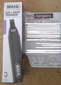 Wahl Ear and Nose Trimmer @ Home Bargains - clydebank £1.99