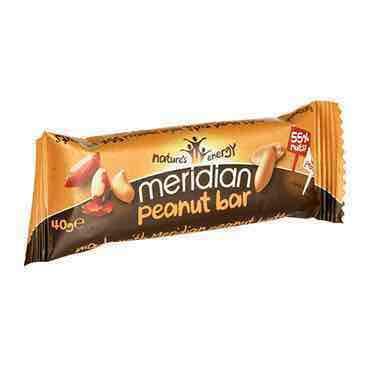Meridian Peanut Bars - 3 for £1 at Fulton Foods