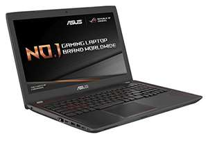 GTX 1050 4GB gaming laptop from ASUS on Amazon + Mouse and Bag - £869.99