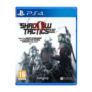 SHADOW TACTICS: BLADES OF THE SHOGUN PS4 at The Game Collection for £24.95