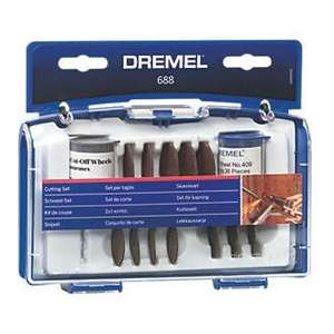 DREMEL 688 CUT-OFF WHEEL ACCESSORY SET 69 PIECES £8.30 @ Screwfix
